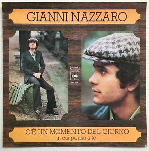 GIANNI NAZZARO C'e Un Momento De Giorno in cui penso a te 1973 OZ CBS VG++/VG++