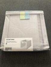 Ikea Slakting Grey Fabric Storage Box