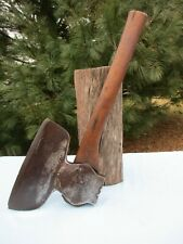 Beatty & Son Chester Antique Hewing Axe Vtg Pennsylvania Hatchet PA Axe Tool