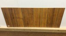 Wood Effect Chipboard Panel Offcut, 122cm x 51.5cm x 3mm, Vintage Retro 1980s