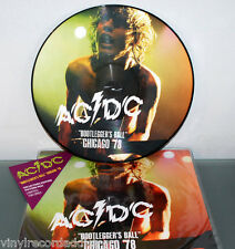 AC/DC - BOOTLEGGER'S BALL LIVE IN CHICAGO '78 PIC LP PICTURE DISC RARE 100COP NM