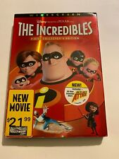 THE INCREDIBLES - Collector's Edition - 2 DVD Set w Slipcover - NO SCRATCHES