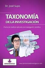 Taxonomía de la investigación: El arte de clasificar aplicado a la investigación