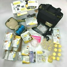 Medela Advanced On the go Tote Electric Double Breast Pump extra Accessories New