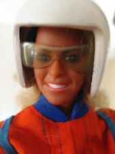 The Bionic Woman custom SKYDIVING SUIT+boots+chute+helmet+gl(Doll NOT included )