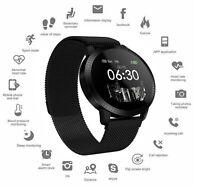 Fitness Tracker Step Calorie Counter Heart Rate Blood Oxygen Sleep Smart Watch