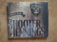 Shooter Jennings - Family Man 2012 USA CD Sealed NEW Digipak