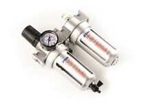 AIR FILTER  REGULATOR  LUBRICATOR 1/4 inch Compressed 125L Oil Capacity