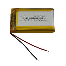 3.7V 1400 mAh Polymer Li battery Cell LiPo For GPS Mp4 Camera Tablet PC 903048