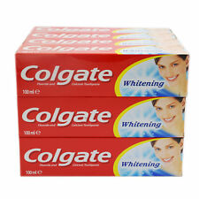 Colgate Toothpaste Whitening with Fluoride & Calcium 100ml Buy 3,6 or 12