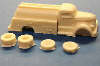 HO SCALE TRUCK- 1940'S DIAMOND T REO FUEL TRUCK RESIN KIT