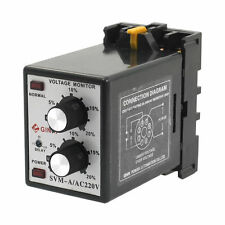 SVM-A AC 220V Protective Adjustable Over/Under Voltage Monitoring Relay
