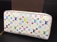 """Authentic LOUIS VUITTON Monogram Multi-color Zippy Bifold Wallet 6G220530N"""""""