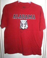 Russell Alabama State Elephant Roll Tide Burgundy T-Shirt XL