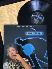 Paul McCartney - Give My Regards To Broad Street Vinyl LP Gatefold/Inner Sleeves