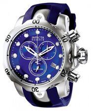 InvictA 6111 Chronograph VENOM Diver 1000M Swiss BLUE band and dial NEW