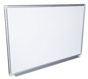 B, C oder D Ware Whiteboard Magnettafel Schreibtafel, lackiert in 12 Größen