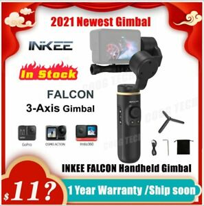 INKEE FALCON 3-Axis Gimbal Stabilizer Wireless Control for GoPro 9/8/7/6/5 OSMO