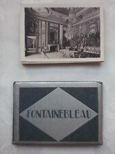 FONTAINEBLEAU FRANCE.MINI PHOTOGRAPH SET,20 DELUX,NEW,1940-50 ?.MUSSEES LOUVRE