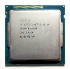 Intel Core i5-3570K 3.40GHz Socket 1155 CPU Quad core SR0PM