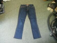 "Evie Bootcut Jeans Size 12 Leg 31"" Faded Dark Blue Ladies Jeans"