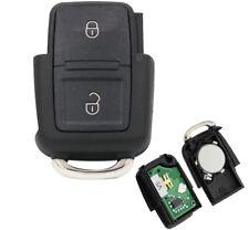 F. VW Seat Skoda 2Tasten Key Casing Electronic 1J0959753CT 433 Mhz VRK06