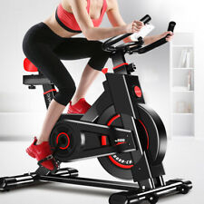 Indoor Stationary Upright Cycling Exercise Bike Chain Drive Flywheel Gym Sport