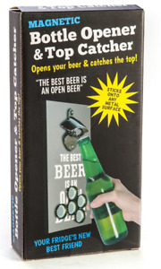 Beer Bottle Opener Magnetic Catcher