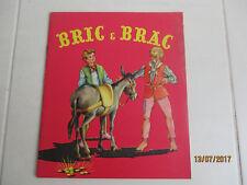 """Ancien livre enfant """"Bric e Brac"""" collection """"Harmonie"""" Monte-Carlo 1958"""