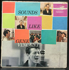 Gene Vincent - Sounds Like Gene Vincent LP VG+ Mono 1959 Capitol T 1207 Original