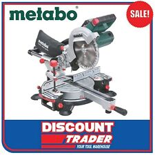 Metabo 18V Lithium-Ion Slide Compound Mitre Saw KGS 216 LTX SK 619001850