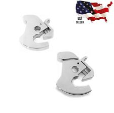 chrome harley davidson latch kit detachables 12600036 touring backrest sissy bar