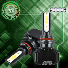 9006 HB4 9012 Flip COB Headlight White + Yellow Dual Color 6000K + 3000K Beam