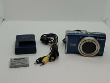 Canon PowerShot PowerShot SX200 IS 12.1MP Digital Camera - Blue Tested Works