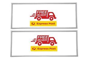 Samsung SRS603HLS Push In Fridge & Freezer Door Seals(MADE IN AUS)