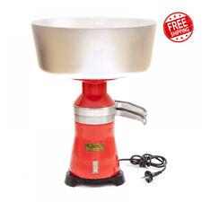 Milk Cream Separator Electric 100lh 15 Metal Plastic 220v Eu Plug