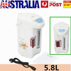 4L Hot Water Boiler Electric Kettle Instant Dispenser Boiling Heat Urn 5 Layer