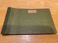 Vintage Prescription Pad – Dr. H.W. Barrier – Concord NC – Airheart's Drug Store