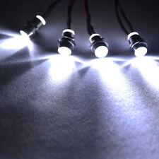 RC LED Night headlamps headlights 4x5mm White LED light for Model Drift Car