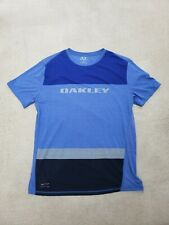 Oakley Blue With Big Logo T Shirt Size XL