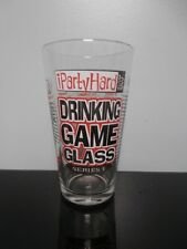iPartyHard.com Drinking Game Pint Glass Series 1 Party Hard