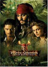 PIRATES OF THE CARIBBEAN ~ DEAD MAN'S CHEST FACES COLLAGE 22x34 MOVIE POSTER