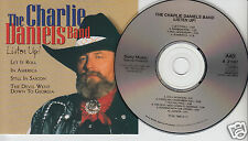 THE CHARLIE DANIELS BAND Listen Up! (CD 1997) 10 Songs Country SONY