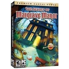 Secret of Margrave Manor Hidden Object PC Game