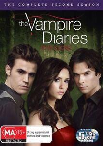 The Vampire Diaries : Season 2 : 5 Disc : NEW DVD