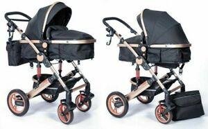 Trally® Kinderwagen 3in1 Komplettset Babywanne=Buggy Autositz Alu NEU KW800