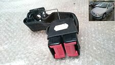 99-02 RENAULT MEGANE MK1 REAR TWIN SEATBELT ANCHOR CLIP BUCKLE - RED & RED