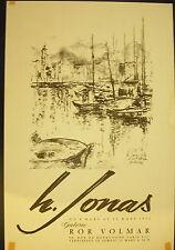 Affiche exposition Hans Jonas Galerie Ror Volmar
