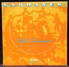 """Sardanes Cobla Barcelona 25 cm 10 """" LP & CV EX +"""