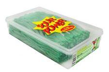 Sour Power Straw Tub Grn Apple 200Ct